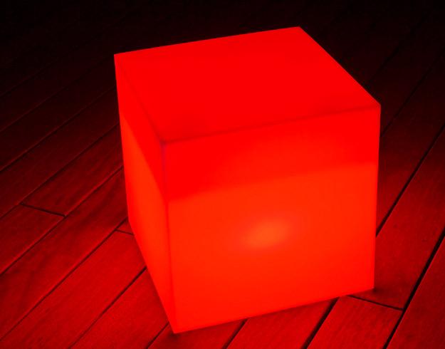 Cube lumineux cube sharp - Un cube dans mon jardin prix ...