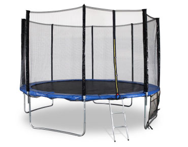Trampoline avec filet protection