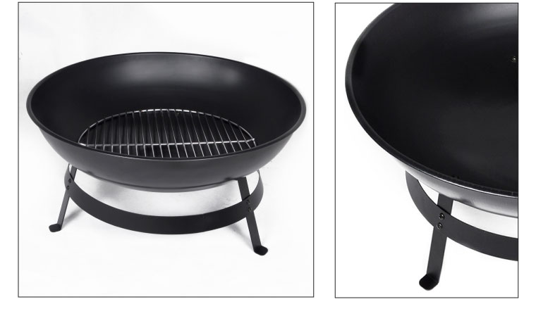 Barbecue rond bas