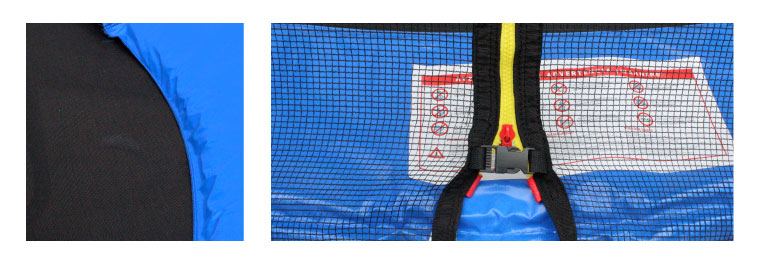 Trampoline filet protection grand modele